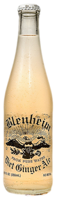 Blenheim #9 Diet Ginger Ale (White Cap) in 12 oz. glass bottles for Sale
