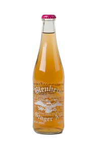 Blenheim Old # 3 HOT Ginger Ale (Red cap) in 12 oz. glass bottles for Sale