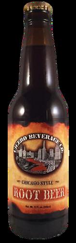 Cicero Salted Caramel Root Beer in 12 oz. glass bottles for Sale