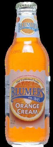 Blumers Orange Cream Soda in 12 oz. glass bottles for Sale