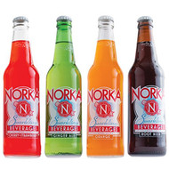 NORKA Sparkling Beverages Variety Pack Includes 3 Bottles of Each Flavor from SummitCitySoda.com