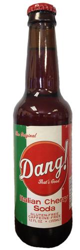 Dang! Italian Cherry Soda in 12 oz glass bottles from SummitCitySoda.com