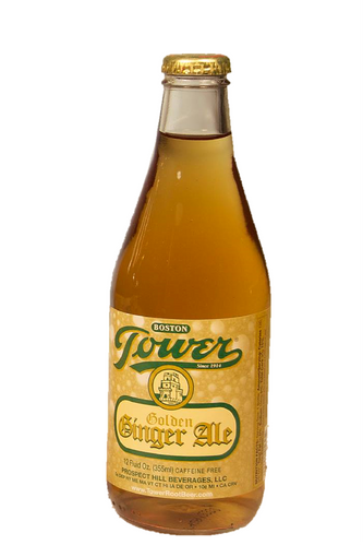Tower Golden Ginger Ale in 12 oz. glass bottles for sale at SummitCitySoda.com