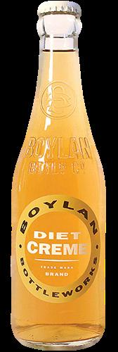 Boylan Diet Creme Soda in 12 oz. glass bottles for Sale
