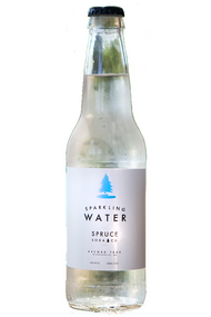 Spruce Soda Co Sparkling Water in 12 oz glass bottles at SummitCitySoda.com