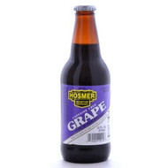 Hosmer Mountain Grape Soda in 12 oz glass bottles