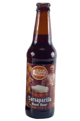 Boots Beverages Sarsaparilla Root Beer in 12 oz. glass bottles for Sale