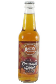 Boots Beverages Caramel Apple Soda in 12 oz. glass bottles for Sale