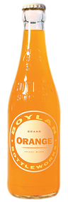 Boylan Orange Soda in 12 oz. glass bottles for Sale