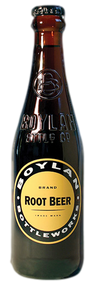 Boylan Root Beer in 12 oz. glass bottles for Sale