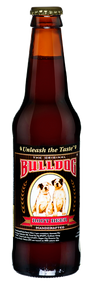 Bull Dog Root Beer in 12 oz. glass bottles for Sale