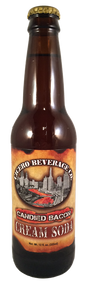 Cicero Candied Bacon Cream Soda in 12 oz. glass bottles for Sale