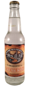 Cicero Chicago Style Cream Soda in 12 oz. glass bottles for Sale