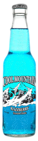Cool Mountain Blue Razzberry in 12 oz. glass bottles for Sale