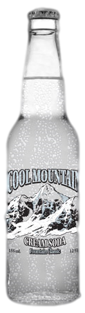 Cool Mountain Cream Soda in 12 oz. glass bottles for Sale