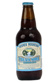Hosmer Mountain Antique Cream Soda in 12 oz. glass bottles for Sale at SummitCitySoda.com
