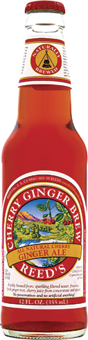 Reed's Cherry Ginger Brew in 12 oz. glass bottles for Sale