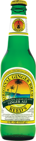 Reed's Original Ginger Brew in 12 oz. glass bottles for Sale