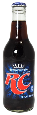 RC Royal Crown Cola in 12 oz. glass bottles for Sale