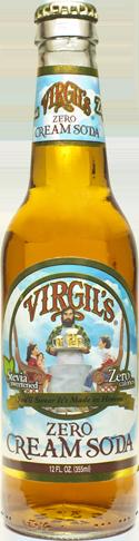 Virgil's Zero Vanilla Cream Soda in 12 oz. glass bottles for Sale