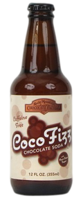 Zuberfizz Coco Fizz  Soda in 12 oz. glass bottles for Sale