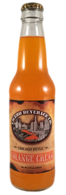 Cicero Chicago Style Orange Cream Soda in 12 oz. glass bottles for Sale