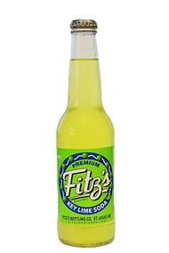 Fitz's Key Lime Soda in 12 oz. glass bottles for Sale at SummitCitySoda.com
