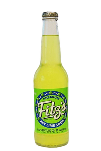 Fitz's Key Lime Soda in 12 oz. glass bottles for Sale at SummitCitySoda.com