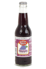 Foxon Park Grape Soda in 12 oz. glass bottles for Sale at SummitCitySoda.com