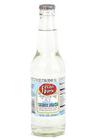 Foxon Park White Birch Soda in 12 oz. glass bottles for Sale at SummitCitySoda.com