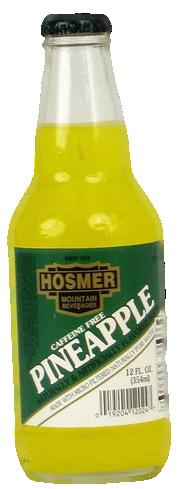 Hosmer Mountain Pineapple Soda in 12 oz. glass bottles for Sale