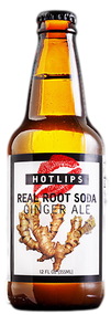 Hotlips Ginger Ale in 12 oz. glass bottles for Sale