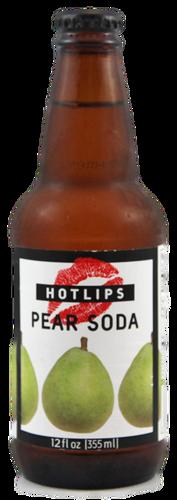 Hotlips Pear Soda in 12 oz. glass bottles for Sale