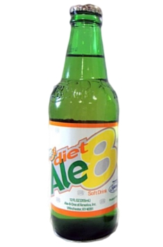 Ale-8-One Diet Soda in 12 oz. glass bottles for Sale at SummitCitySoda.com