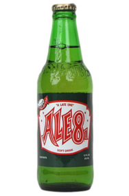 Ale-8-One Soda in 12 oz. glass bottles for Sale