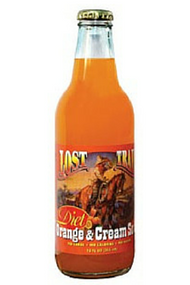 Lost Trail Diet Orange & Cream Soda in 12 oz. glass bottles for Sale