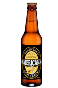 Americana Honey Cream Soda in 12 oz. glass bottles for Sale