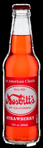 Nesbitt's Vintage Strawberry Soda in 12 oz. glass bottles for Sale