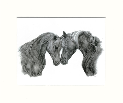 Mounted Print 10x8inch