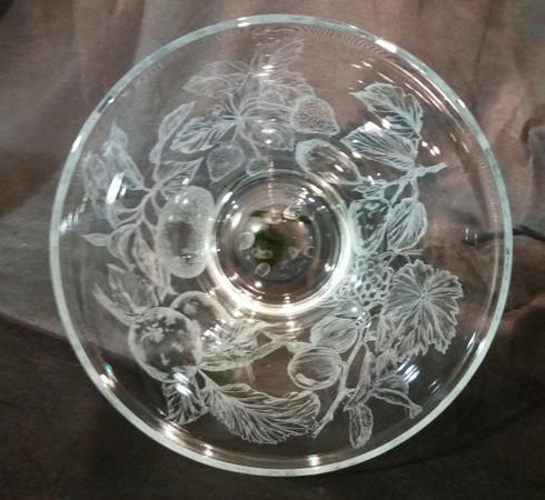 Engraved Bowl - Top