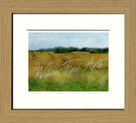 Oak Effect Framed Print 8x10inch
