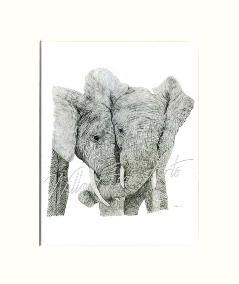 Mounted Print (Shown in size - 8x10inch)