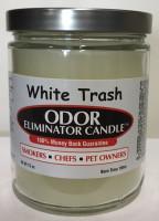 White Trash Odor Eliminator Candle