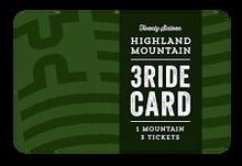 3 Ride Card 2016