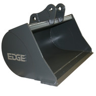 """24"""" (4.25 ft³, .12 m³) Ditching Bucket for Hitachi ZX35 Excavator, with OEM Quick Attach"""