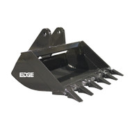 "36"" (3.48 ft³, 0.99 m³) Cemetery Bucket for Bobcat E35 with OEM Xchange Quick Attach"