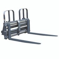 "Sliding Tine Pallet Fork with 54"" (1372 mm) Hydraulic Sliding Tines, 5500 lb. Capacity"