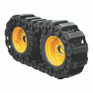 """Grouser Soft Pad Tracks to Fit 10.00 Tires - 48 Pads (24 per side), Will Accommodate 40.5"""" to 43"""" Wheelbase"""
