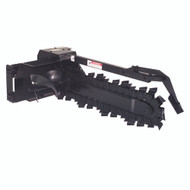 """XR-21S Trencher 48"""" depth x 8"""" width, Half Rock and Frost, Hydraulic Side Shift"""