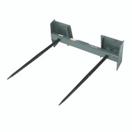 "Double Round Bale Spear - 42"", 3000 lb. capacity"